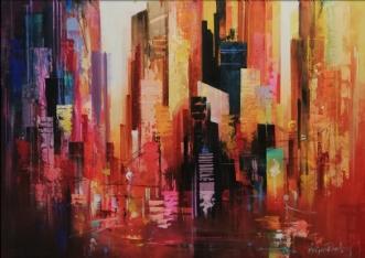 HolgerPoulsen | Manhattan Red I