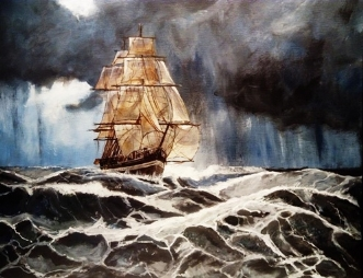 FlemmingIlnæs | Skib i uvejr