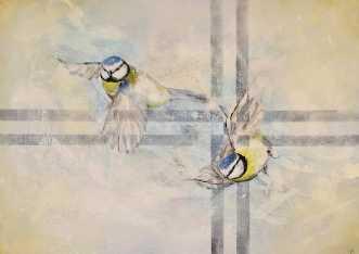 Wings of Joy by Vivi Amelung | maleri