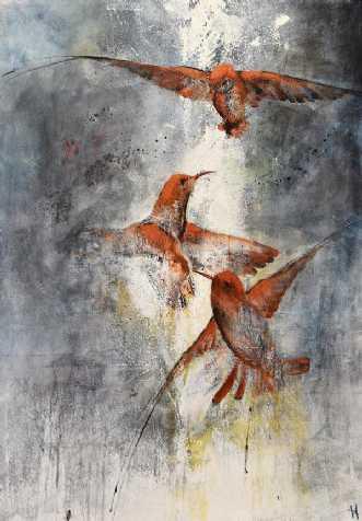 Vingesus by Vivi Amelung | maleri