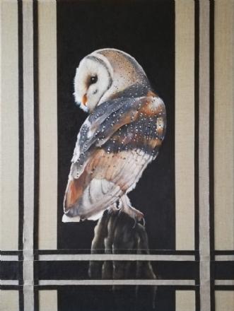 Snowowl by Vivi Amelung | maleri