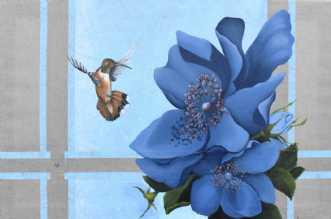 Blooming Life by Vivi Amelung | maleri