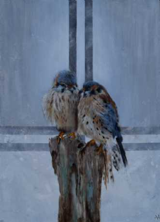 Soulmates by Vivi Amelung | maleri