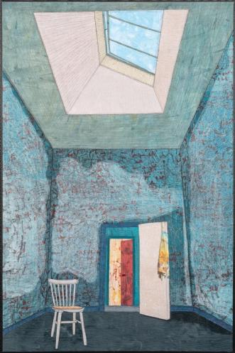 'En ny begyndelse' by Tina Sommer Paaske | tekstilkunst