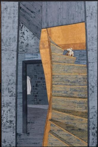 'Kommer hun tilbage.. by Tina Sommer Paaske | tekstilkunst