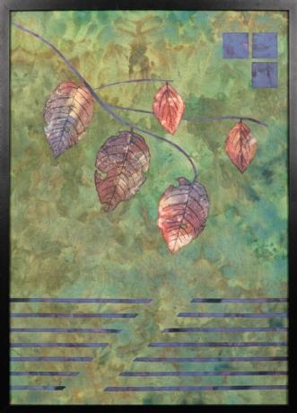 Et nyt efterår 5 by Tina Sommer Paaske | tekstilkunst