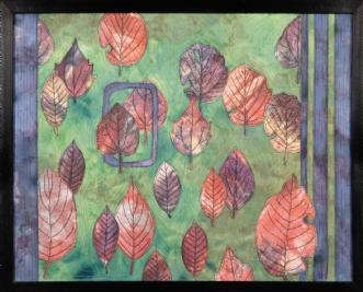 Et nyt efterår 6 by Tina Sommer Paaske | tekstilkunst