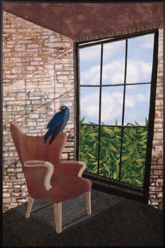 'Frihed' by Tina Sommer Paaske | tekstilkunst