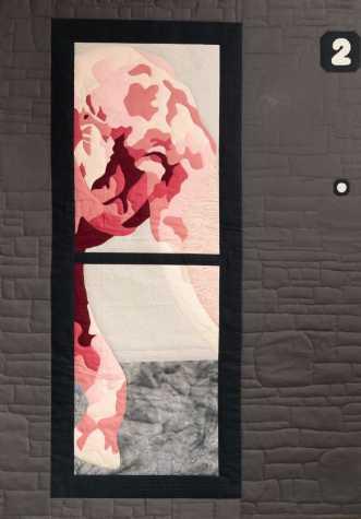 Der er nogen ved dø.. by Tina Sommer Paaske | tekstilkunst