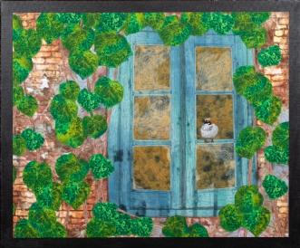 Fri som fuglen by Tina Sommer Paaske | tekstilkunst