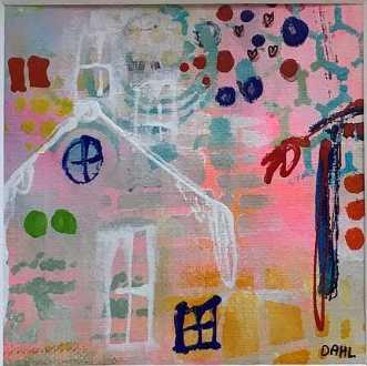 Home Sweet Home II by Daisy Dahl | unikaramme