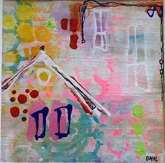 Home Sweet Home I by Daisy Dahl | unikaramme