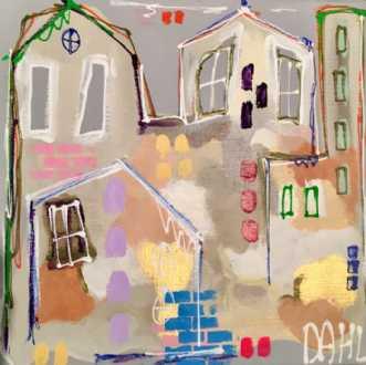 Spring Time II by Daisy Dahl | maleri