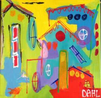 Maleri af Daisy Dahl