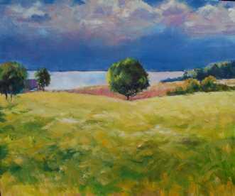 Torden belysning by Peter Witt | maleri