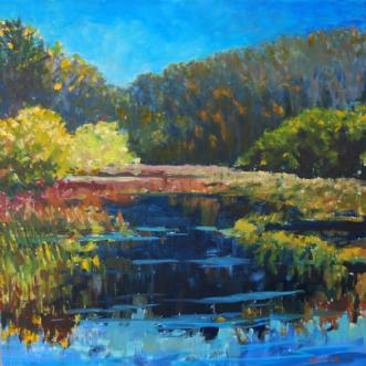 Efterår by Peter Witt | maleri