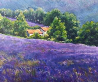 Provence by Peter Witt | maleri