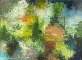 Summer day by Eva Vig | maleri