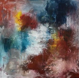 HOPE by Eva Vig | maleri