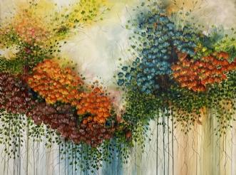 Fall by Eva Vig | maleri