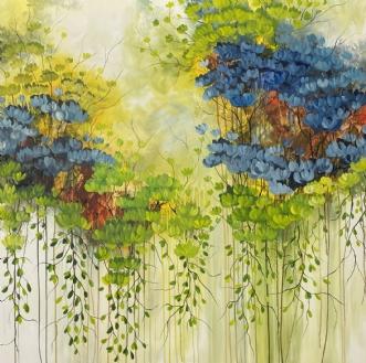 Forår by Eva Vig | maleri