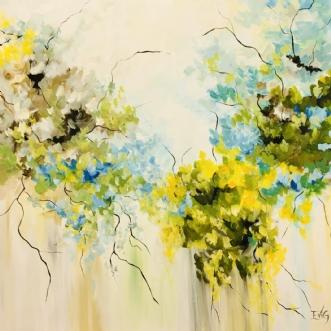 Naturens vidunder by Eva Vig | maleri