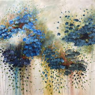 Tranquille by Eva Vig | maleri