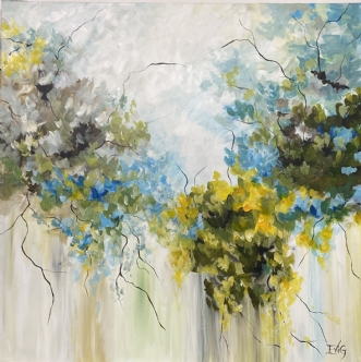 Naturens vidunder by Eva Vig   maleri