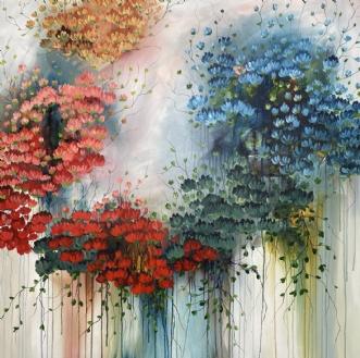 Sunday Wibes by Eva Vig | maleri