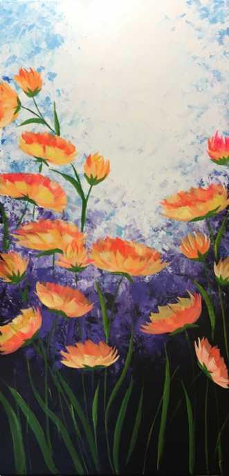 Sunny side UP by Eva Vig | maleri