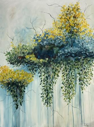 Nesting by Eva Vig | maleri