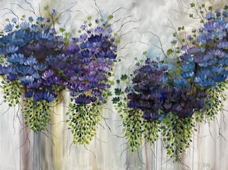 Stille stunder by Eva Vig | maleri