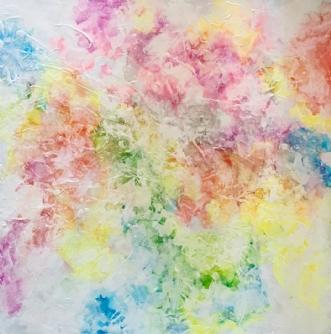 Summer feeling by Eva Vig | maleri