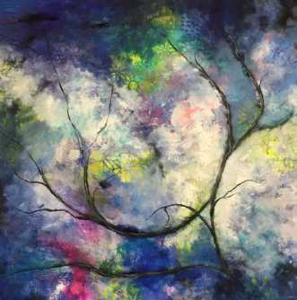 Abstract nature af Eva Vig