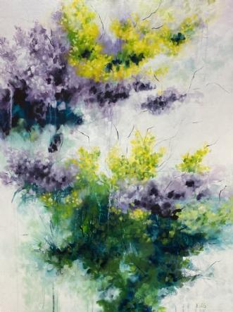Sunny Garden by Eva Vig | maleri