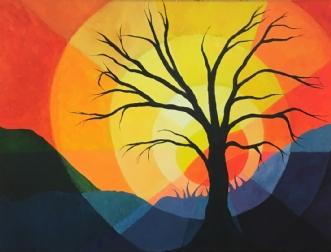 Solens Farver by Eva Vig | maleri