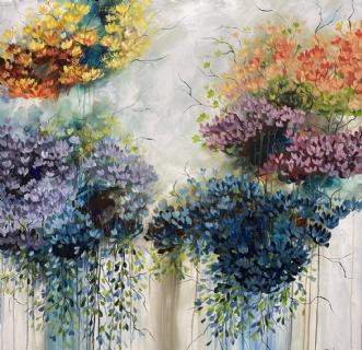 Rainbow by Eva Vig | maleri