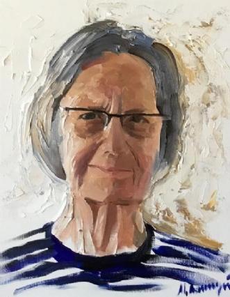 Gerda by Misha Lapitskiy | maleri