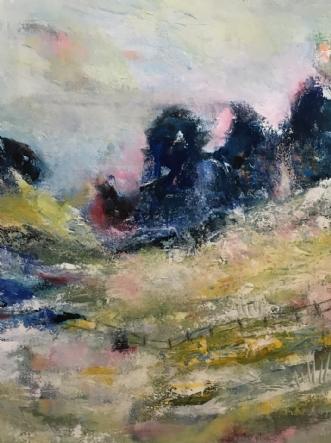 Landscape by Alice Dønns | maleri