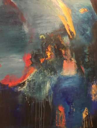 History by Alice Dønns | maleri