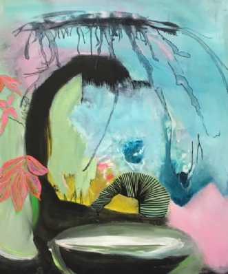 Drømme 1 by Alice Dønns | maleri
