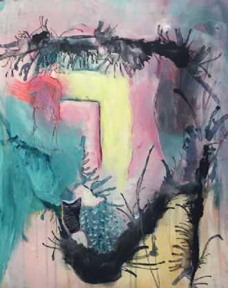 Drømme 2 by Alice Dønns | maleri