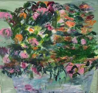 Blomster by Alice Dønns | maleri