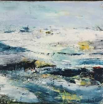 Maleri af Alice Dønns