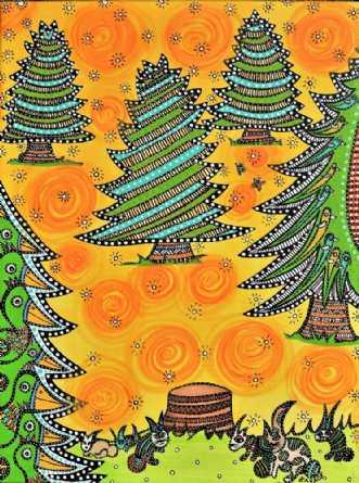 Grantræet by BAKAOS | tegning