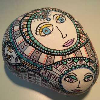 Sten uden titel by BAKAOS | diverse