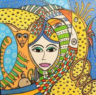 Hverken Fugl eller .. by BAKAOS | maleri