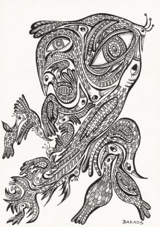 Fuglistisk Monseter.. by BAKAOS | tegning