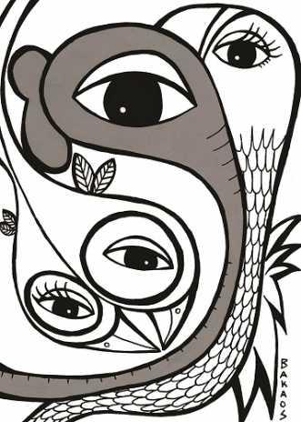 ElefanTastisk Fugle.. by BAKAOS | tegning