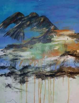 No Tittel 8 by Iben Bjerre | maleri